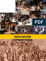 Educación comunitaria