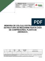 MEMORIA DE CALCULO CASA DE COMPRESORES