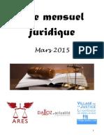 Mensuel Juridique Mars 2015