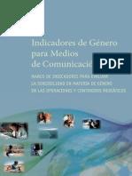 """UNESCO, """"Indicadores de Género para Medios de Comunicación"""""""