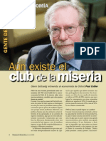 Aun existe el club de la miseria- Paul Collier