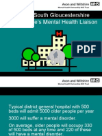 Bristol and South Gloucestershire Older People's Mental Health Liaison