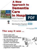 A New Approach to Dementia Care in Hospitals