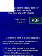Improving general hospital care for people with dementia