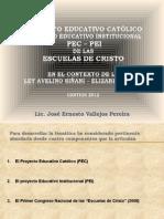 PEC y PEI de Las EECC Presentación