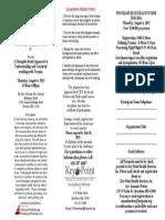 Trauma Training Brochure - Lisa Ferentz - Aug. 6, 2015