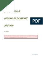 Derecho Civil IV Sucesiones 2013 2014 Silu-cholo