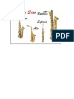 Tipos de Saxofones