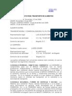 Acah -001 Ac 001 Contrato Para Transporte