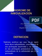 Sindrome de Inmovilizacion