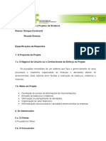 Projeto Aps