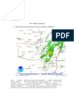 severe weather assessment - geog 1700