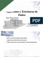 Estrutura de Dados -  Pilha