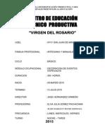 PROGRA Elva Eventos Espec.I. 2015