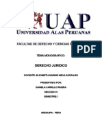 Monografia de Derecho Juridico