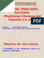 Clase 05 Regimenes Tributarios