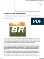 O Interesse Por Trás Do Ataque à Petrobras