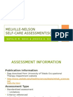 melville-nelson self-care assessment-2