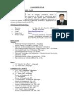 Curriculum Vitae - Tic 2014