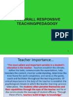 Culturally Responsive Teaching Or Pedagogy 2015.ppt