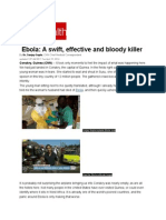 Ebola_ a Swift Effective and Bloody Killer