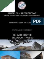 APRESENTAÇÃO - Museus referÊncias.ppt