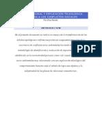 Analisis Causal y Explicación Teleológica Aplicada a Los Conflictos Sociales (i Parte)