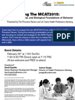 Demystifying the MCAT2015