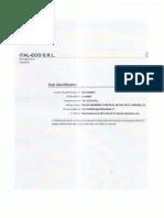 documentazione società Ital-eco, amministratore unico Andrea Marzovilla