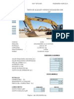 Costos en Operación de Maquinarias