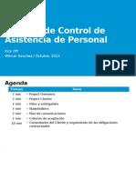 Sistema de Control de Asistencia de Personal
