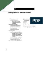 Conceptualization and Measurement
