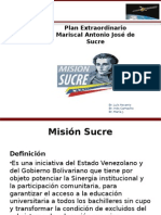 MISION SUCRE.ppt