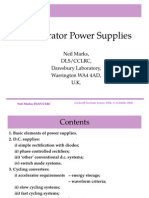 Accelerator Power Supply