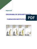 10.3 Programa Terapeutico Spiral de Deshabituacion