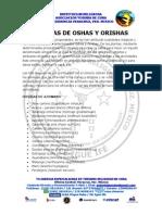 Hierbas de Oshas y Orishas
