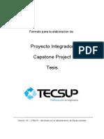 Estructura de Proyectos - Equipo Pesado 2014 -I