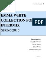 intermix wholesale collection proposal