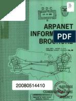 Arpanet Information Brochure