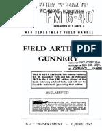 FM 6-40 1945