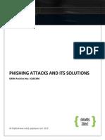 Phishing attacks and its vectors