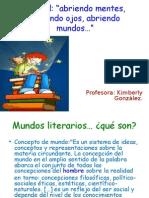 1medio-Tipos de mundos -2013- Prof. Kimberly Gonzalez.ppt