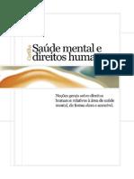 Cartilha Saúde Mental e Direitos Humanos - Livro