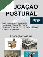 Educao postural Marcelino