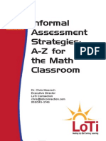 informal assessment strategies