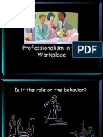 Professionalism at the Work place.ppt