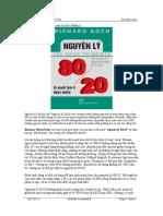 The 80_20 Principle_Richard Koch