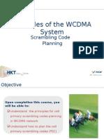 Scrambling Code Planning