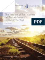 Saskatchewan Chamber of Commerce 2015 Rail Study