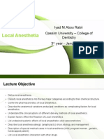 local anesthetics agents